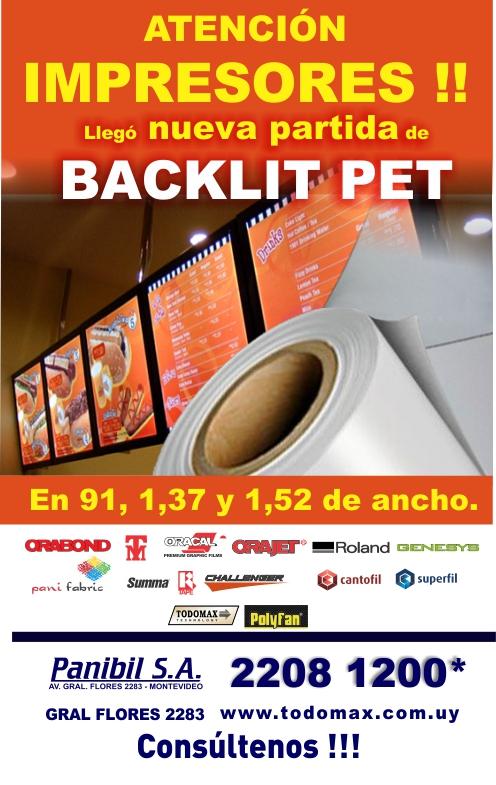 backlit pet168