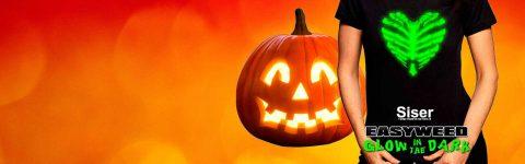 Semana pre Halloween: vinilo textil